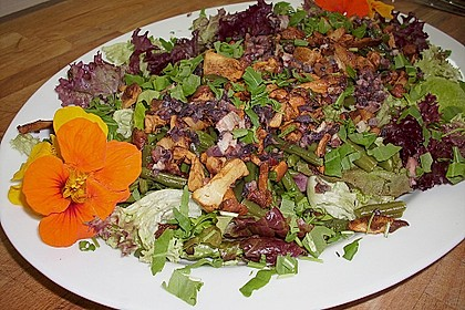 Grüner Bohnen-Pfifferling-Salat 5