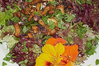 Grüner Bohnen-Pfifferling-Salat 7