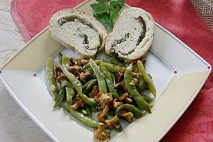 Grüner Bohnen-Pfifferling-Salat 4