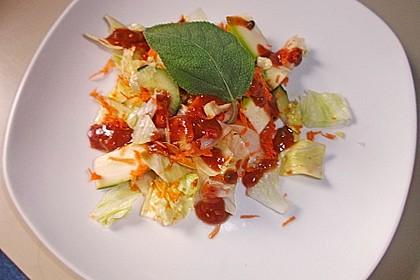 Karotten - Zucchini - Rohkost 1