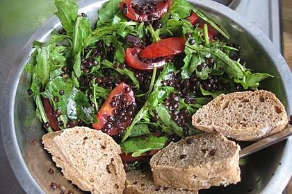 Beluga - Linsen - Salat