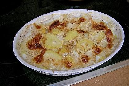 Kartoffelgratin 8