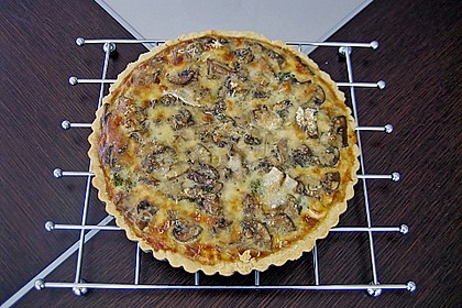 Gemüse - Quiche mit Parmesan 1