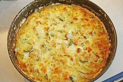 Gemüse - Quiche mit Parmesan 3