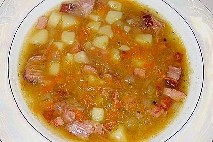 Szegediner Sauerkrautsuppe 1
