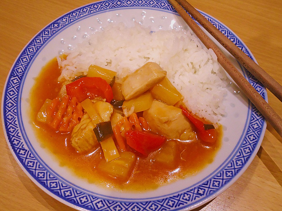 Chinesisches curry huhn rezept