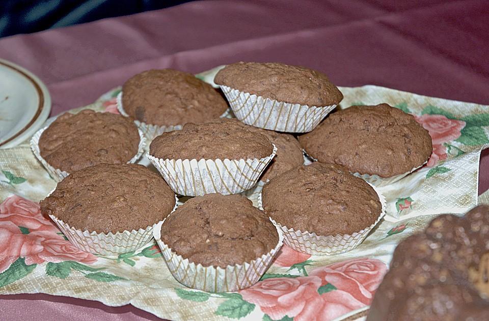 schoko muffins rezept mit bild von ilaria. Black Bedroom Furniture Sets. Home Design Ideas