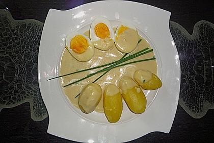 Eier in Senfsauce 3