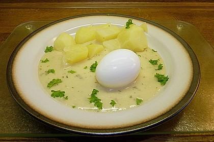 Eier in Senfsauce 10