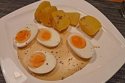 Eier in Senfsauce 7