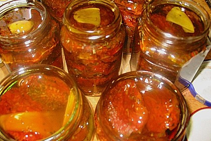 Tomaten in Öl