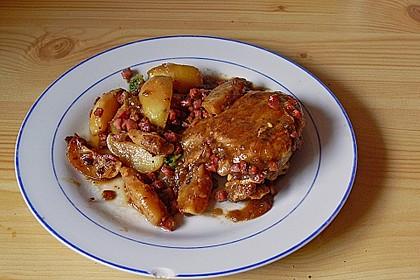 Kalbsschnitzel mit Schinken und Salbei 14