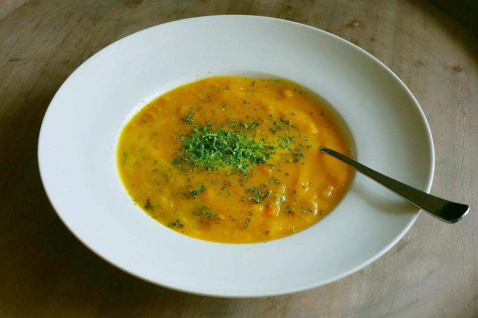 kürbissuppe (rezept mit bild) von simoon | chefkoch.de - Kürbissuppe Rezept Chefkoch