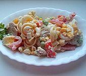 Scharfer Nudelsalat mit Bananen (Bild)