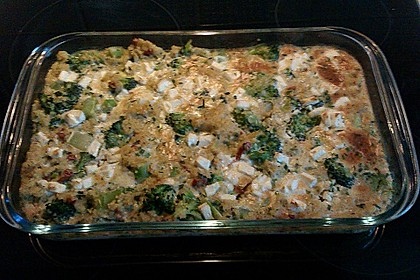 Brokkoli - Hirse mit Feta / Schafskäse 18