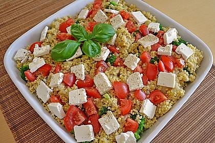 Brokkoli-Hirse mit Feta/Schafskäse 1