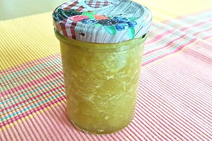 Rhabarber - Marmelade mit Ingwer 2