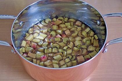 Rhabarber - Marmelade mit Ingwer 3