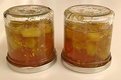 Rhabarber - Marmelade mit Ingwer 5