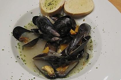 Muscheln in Weißwein 18