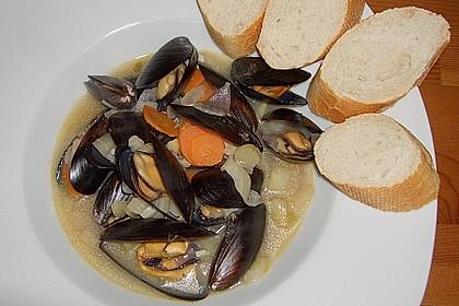 Muscheln in Weißwein 19