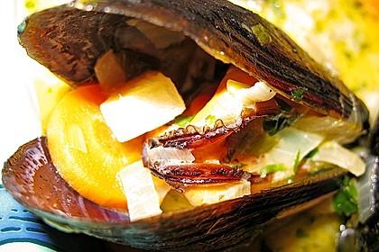 Muscheln in Weißwein 1