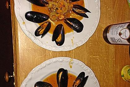 Muscheln in Weißwein 26