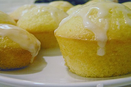 Zitronen - Sour - Cream - Muffins 13