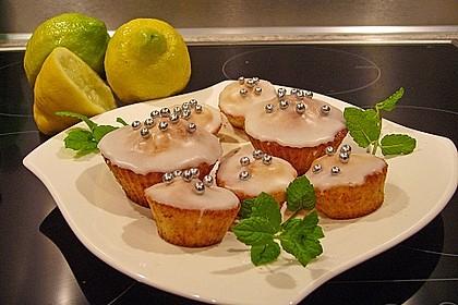 Zitronen - Sour - Cream - Muffins