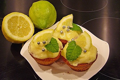 Zitronen - Sour - Cream - Muffins 5