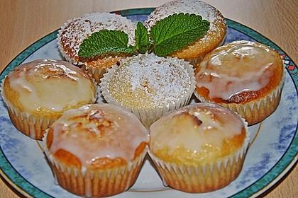 Zitronen - Sour - Cream - Muffins 12