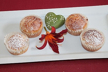 Zitronen - Sour - Cream - Muffins 15