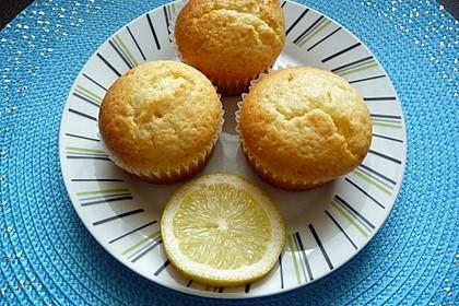 Zitronen - Sour - Cream - Muffins 8