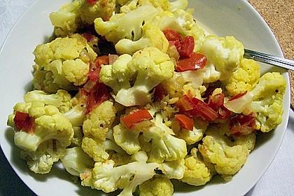 Blumenkohl - Tomaten - Curry 1