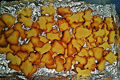 Orangen - Butterplätzchen 6
