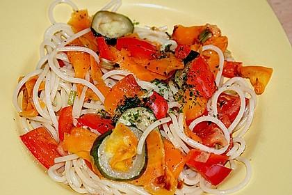 Antipasti - Spaghetti - Salat