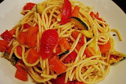 Antipasti - Spaghetti - Salat 4