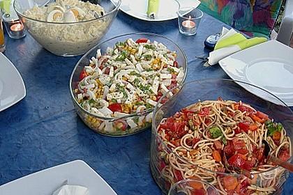 Antipasti - Spaghetti - Salat 10