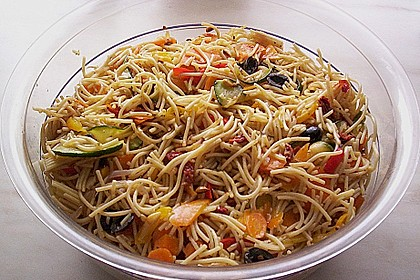 Antipasti - Spaghetti - Salat 8