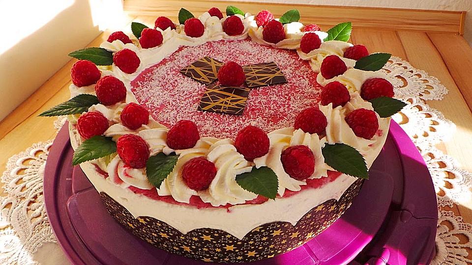 Himbeer - Kokos - Torte (Rezept mit Bild) von Finnin  Chefkoch.de
