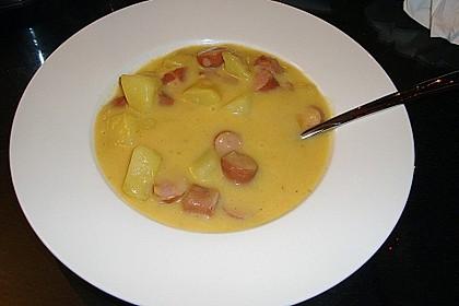 Einfache Kartoffelsuppe 4