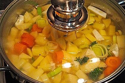 Einfache Kartoffelsuppe 18