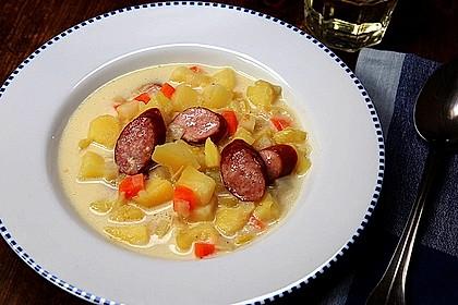 Einfache Kartoffelsuppe 2