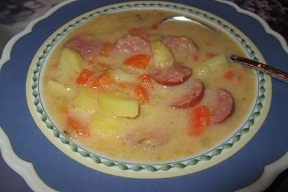 Einfache Kartoffelsuppe 6