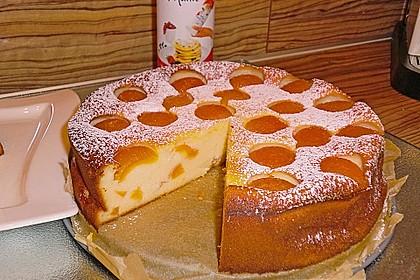 Grieß - Käsekuchen 2