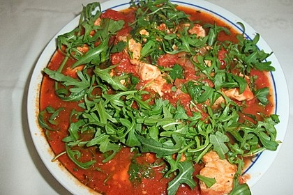 Gnocchi mit Lachs und Rucola 23