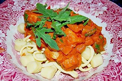 Gnocchi mit Lachs und Rucola 6