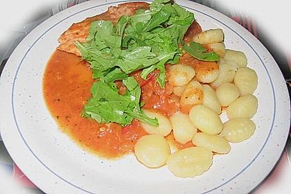 Gnocchi mit Lachs und Rucola 27