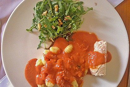 Gnocchi mit Lachs und Rucola 29