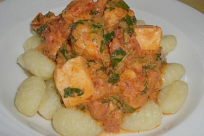Gnocchi mit Lachs und Rucola 14